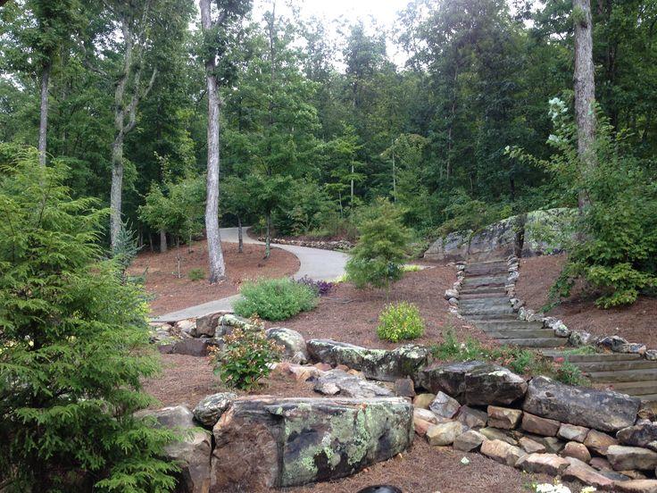 Dry wet weather creek bed gardens pinterest more for Wet garden designs