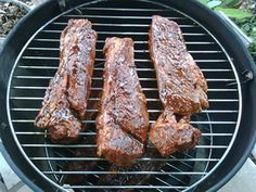 How to make smoked boneless beef country style ribs in your smoker in less than three hours
