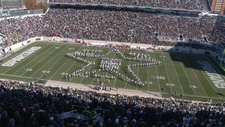 "Spartan Marching Band: ""Battle Of The Bands"" Halftime 
