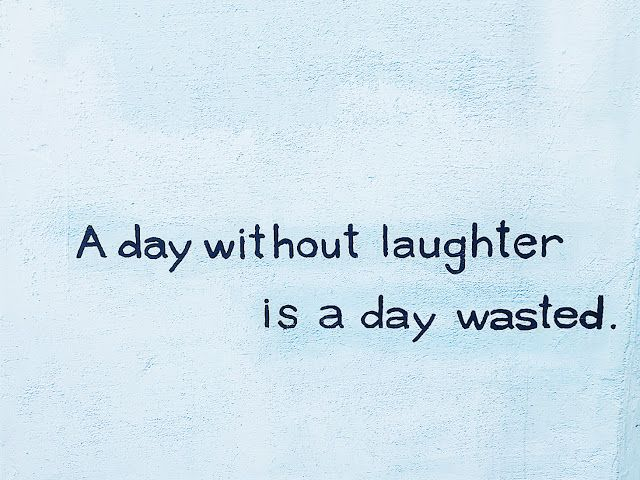 A day without laughter is a day wasted - somewhere on the wall at Gamcheon Cultural Village  #Gamcheon #Busan #Southkorea
