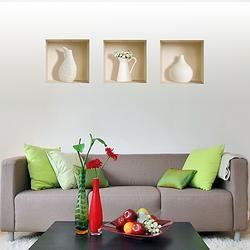 """Декоративная наклейка """"Белый кувшин"""" $39  #подарки для дома #madeinisrael"""