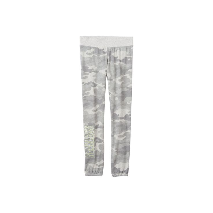 Girls 7-16 SO® French Terry Graphic Jogger Pants, Girl's, Size: 7-8, Silver