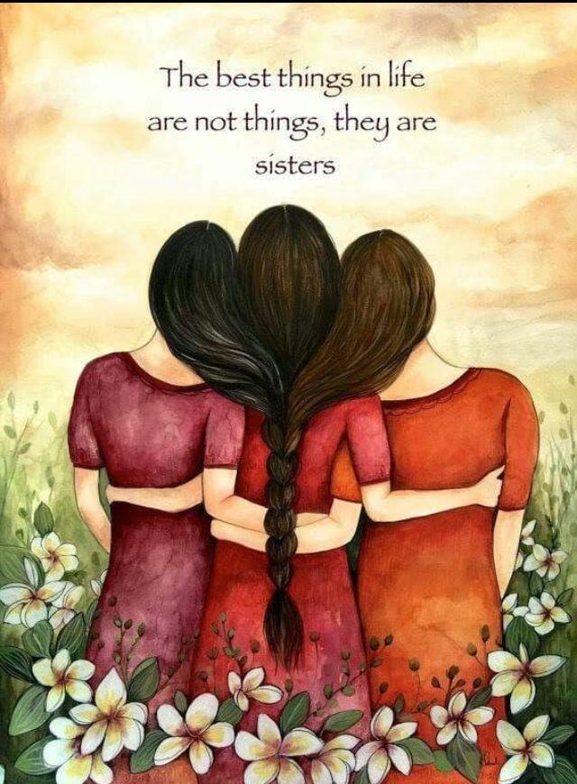 Картинки про сестер цитаты