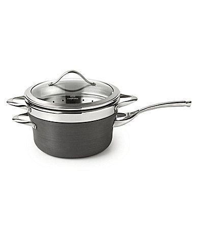 Calphalon Contemporary 45Quart Nonstick Saucepan with Steamer Insert #Dillards