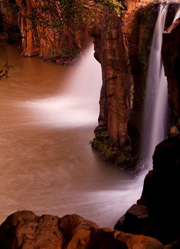 Kipu Falls near Kauai, Hawaii