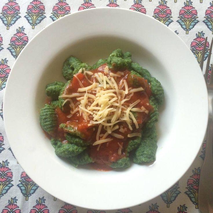 Ñoquis sin gluten de espinaca y queso! Ricos, livianos y fáciles de hacer. sin tacc / gluten free
