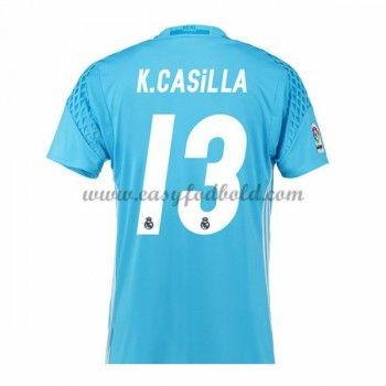 Fodboldtrøjer La Liga Real Madrid 2016-17 Casilla Målmand Hjemmetrøje