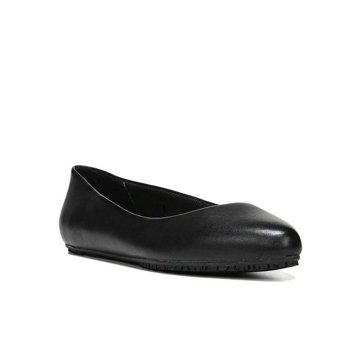 Dr. Scholl's Rain Women's Ballet Flats, Size: medium (7.5), Black