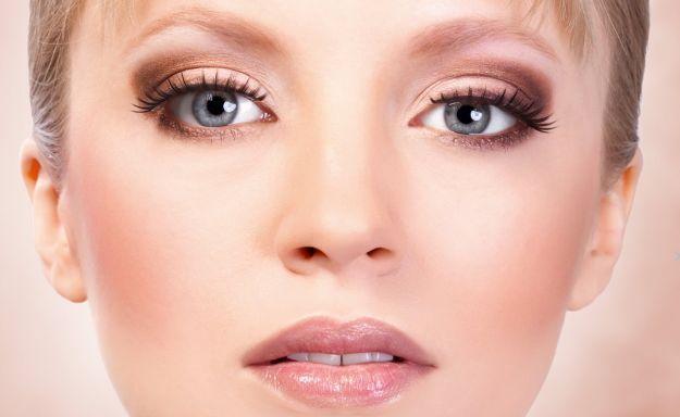 Макияж для серых глаз в коричневых тонах ::: onelady.ru ::: #makeup #eyes #eyemakeup