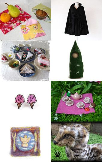 Fairytale Picnic by Julia on Etsy--Pinned with TreasuryPin.com