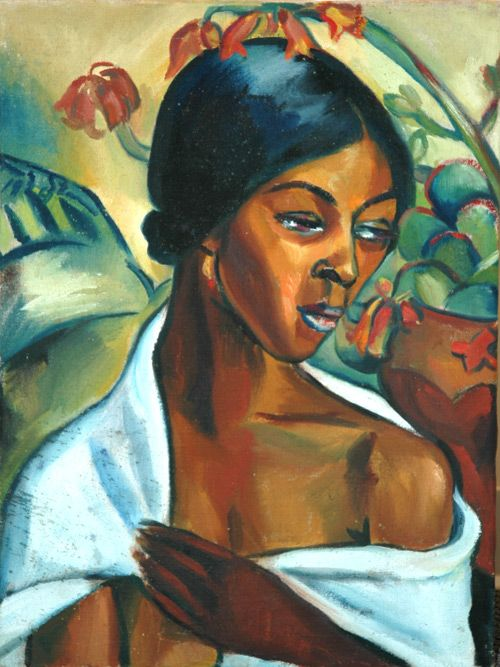Irma Stern Country: Republic of South Africa Style: Portraiture/ Impressionism Medium: Oil, Gouache, Watercolour