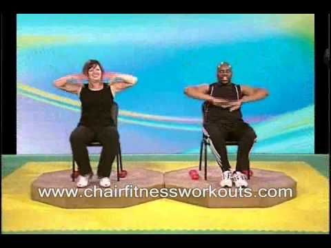Chair Fitness Workout - for those days I am in a lot of pain or extremely fatigued. This would benefit a lot of different people.