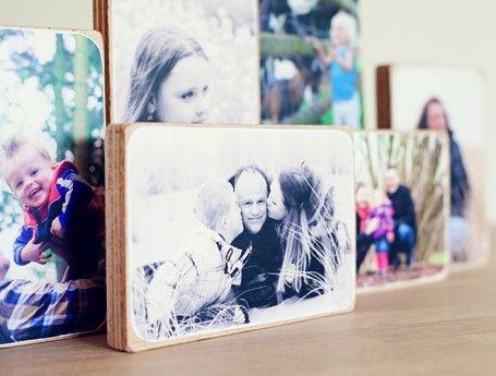 PUURRR | foto's op houtblokken | ZOOK.nl