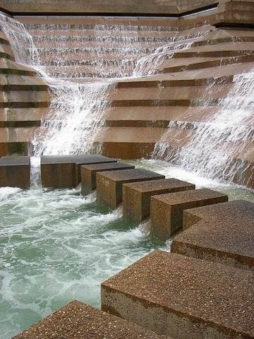 Fort Worth Water Gardens   Downtown Fort Worth, Texas Designed By Architect  Phillip Johnson Www