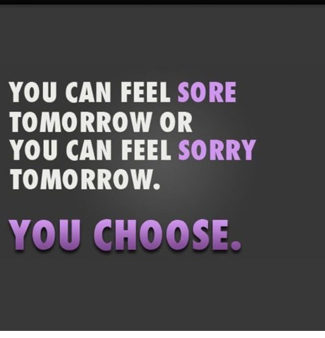 I'd much rather feel sore from a good workout!  Hard to get back into the swing after being sick for a month and a half!