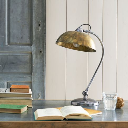 Loaf's old-school brass Domeo lamp