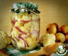 Маринованная цветная капуста - кулинарный рецепт
