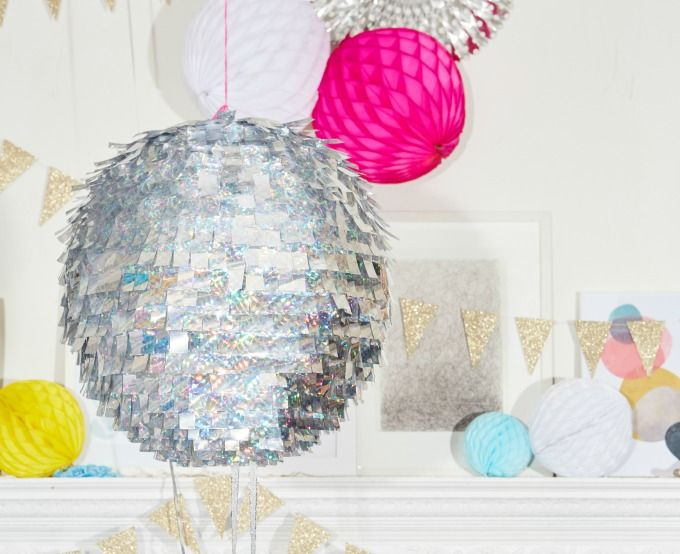 Make Your Own Quick and Easy DIY Disco Ball for New Year's ...
