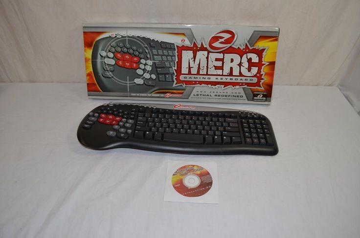 Merc Z Board ZXP 1000 Gaming Keyboard 900-9-22 #Merc