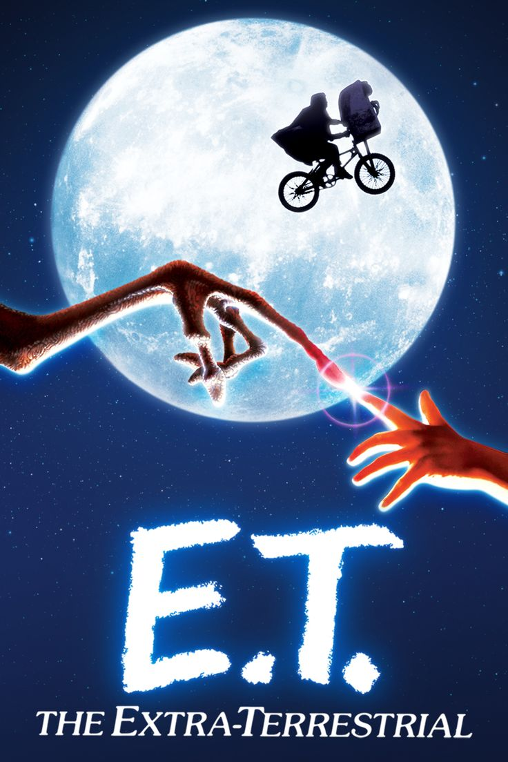 """""""E.T. The Extra-Terrestrial"""" Playing as both an exciting sci-fi adventure and a remarkable portrait of childhood, Steven Spielberg's touching tale of a homesick alien remains a piece of movie magic for young and old."""
