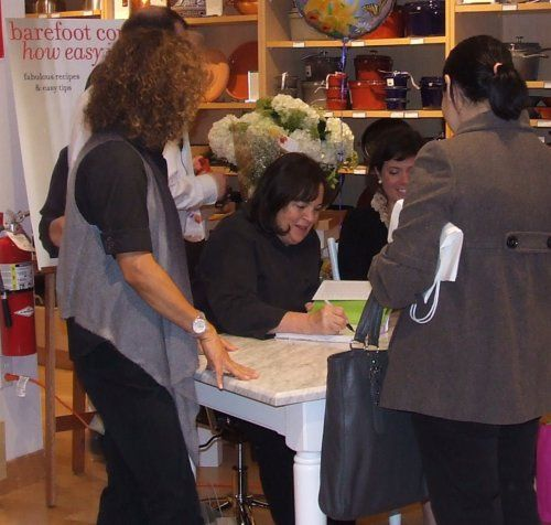 "The ""Barefoot Contessa"" Ina Garten At Williams-Sonoma"
