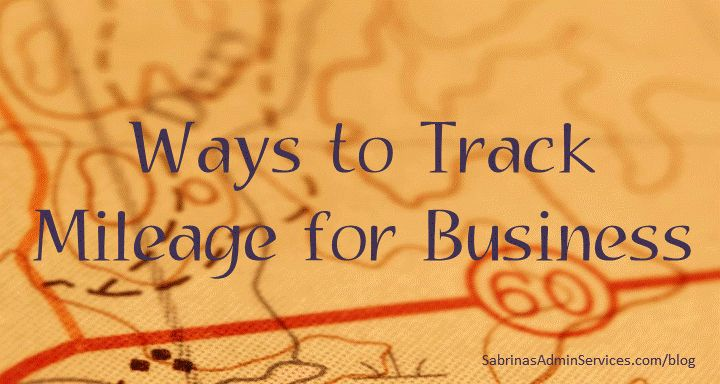 Ways to Track Mileage for Business