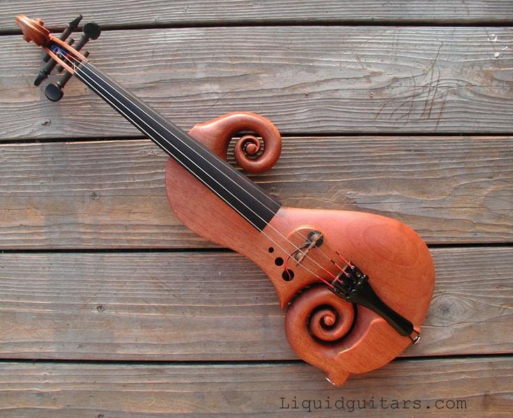 E-violin by Liquid Guitars