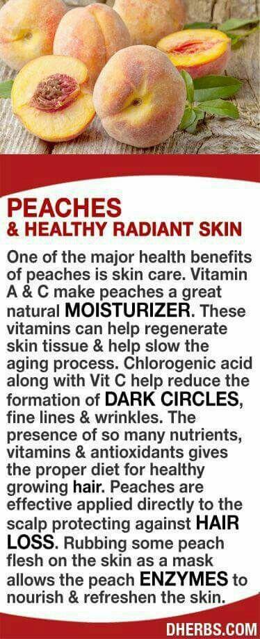 Peaches for health #naturalhealth #healthy