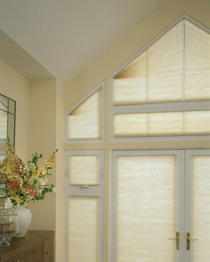 7 Best Images About Odd Shaped Window Treatments On