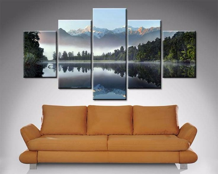 Lake Wall Art 8 best 5 piece wall art images on pinterest | canvas prints