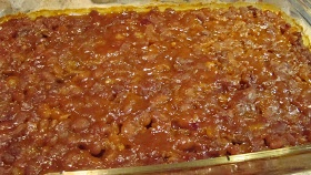 The Bear Cupboard: BAKED BEANS WITH GROUND BEEF