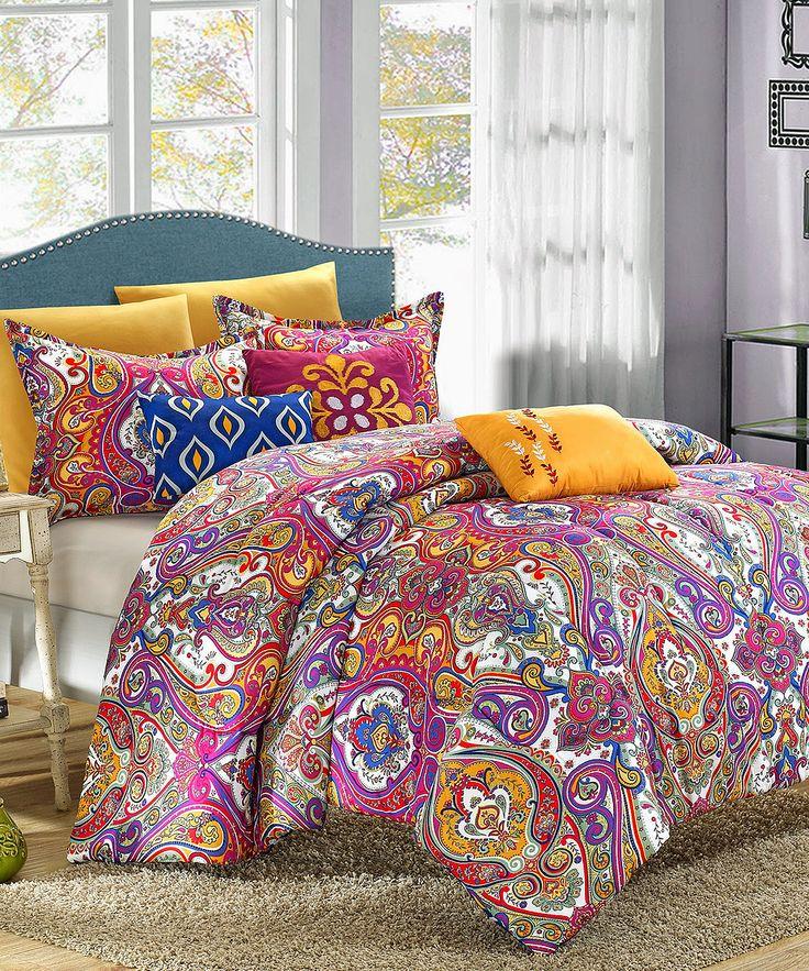 Mumbai Reversible Comforter Set Colors The O Jays And