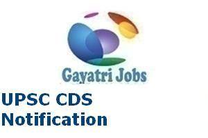 UPSC CDS Notification 2017–18 Apply Online 02/2018 CDS-I Batch