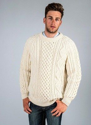 affordable alternatives Thomas Crown Affair Aran Sweater