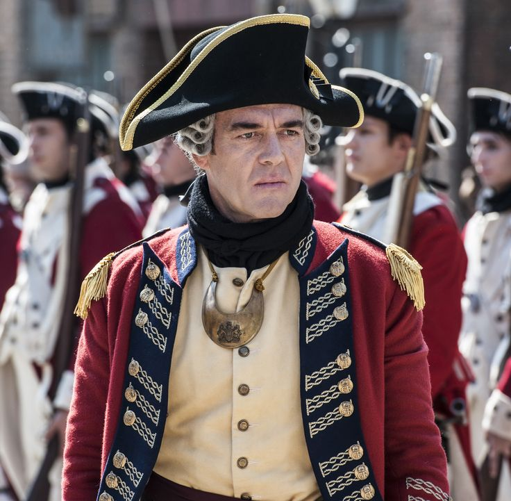 General Thomas Gage - Marton Csokas in Sons of Liberty (TV mini-series 2015).
