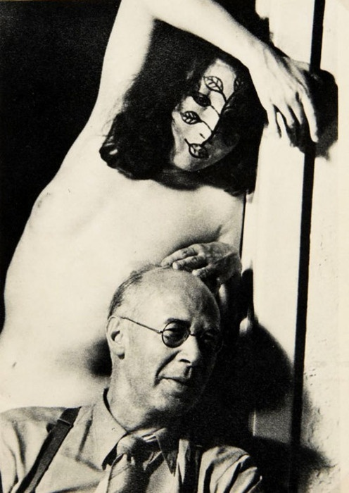 Henry Miller y Margaret Neiman por May Ray. 1947