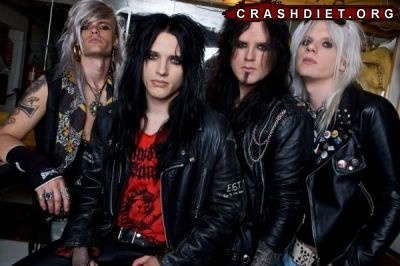 Crashdiet with Simon.