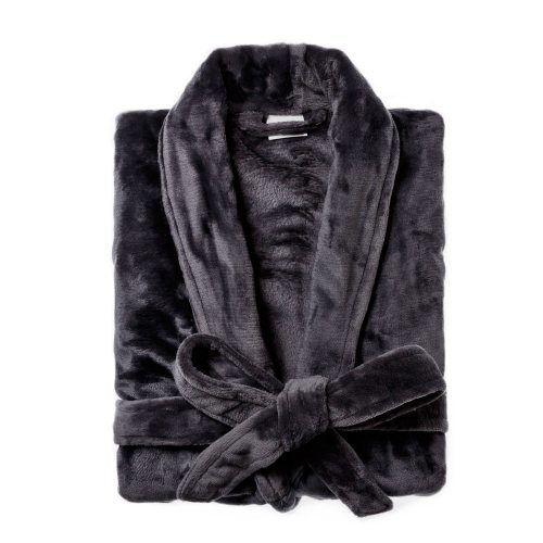Ultra Soft Charcoal Bathrobe