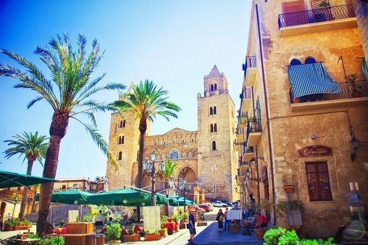 Солнечный Чефалу, Сицилия, Италия