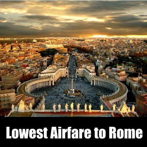 Cheap Flights to #Rome- Buy Online with Nanakflights