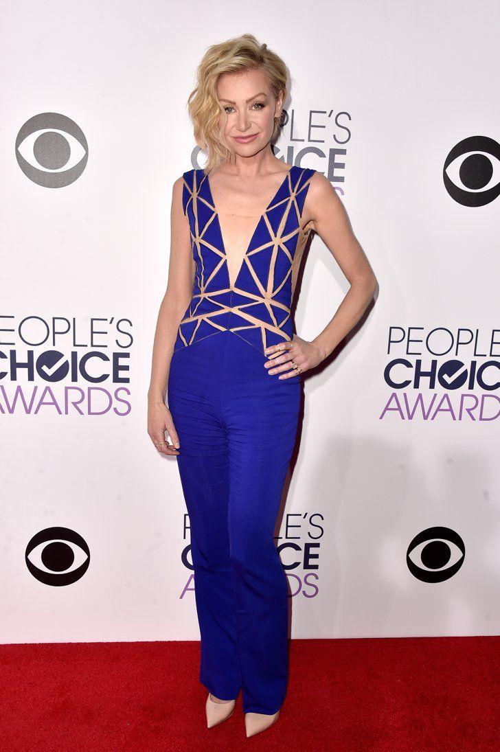 Pin for Later: Es muss nicht immer ein Kleid sein Portia de Rossi
