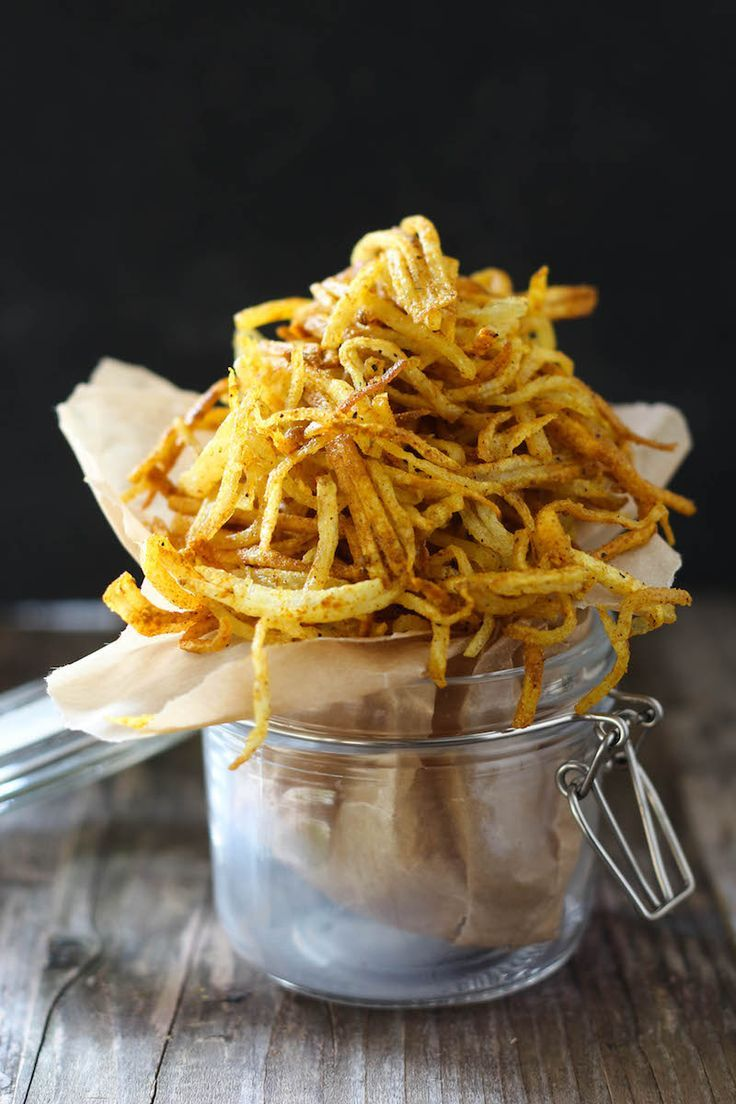PaleOMG Spicy Curry Duck Fat Shoestring Fries