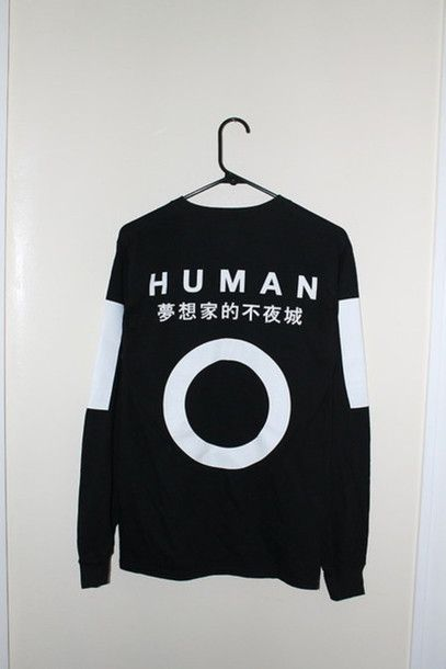 """Dreamer That Never Sleeps"" L/S T-Shirt, Now on Sale at HumanCollective.us"