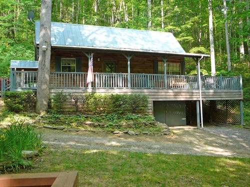 Cherokee NC Cabins, Bryson City NC, North Carolina Mountain Cabins, NC Cabin Rentals - Yellow Rose Realty