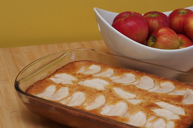 Gâteau aux pommes (sans produits laitiers) #recettesduqc #dessert #coupdecoeur