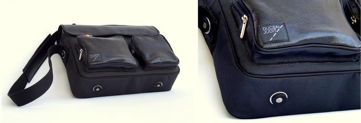 leather/cordura bag  https://www.facebook.com/ducsaijudit.hu