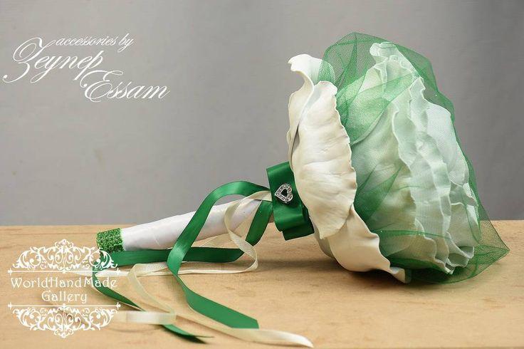 💐!!!SALE!!! Принимаем заказы! ⤵️100% Hand-Made 💐 🌍 http://world-handmade-gallery.com/ _______________________________ 🌍Египет, Александрия 💐🌹Букет свадебный + бутоньерка для жениха + упаковка ручной работы + подставка под букет. 🔸Цвет по желанию заказчика 🕑Время изготовления: неделя _______________________________ 🌍Egypt, Alexandria 🔸Zeynep Essam, accessories 💐Wedding bouquets, boutonniere for the groom, handmade packaging, stand for the bouquet. 💐 🔹Color on request…