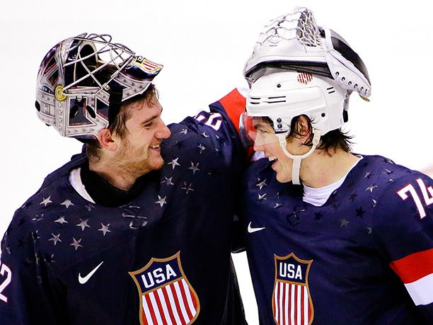 Winter Olympics 2014 | Team: USA Event: Hockey JoJo Marshall said: ''These two single-handedly orchestrated the win for the Americans. Yes, ...