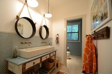 Moore Residence - transitional - Bathroom - Other Metro - Masterpiece Builders of Austin, LLC