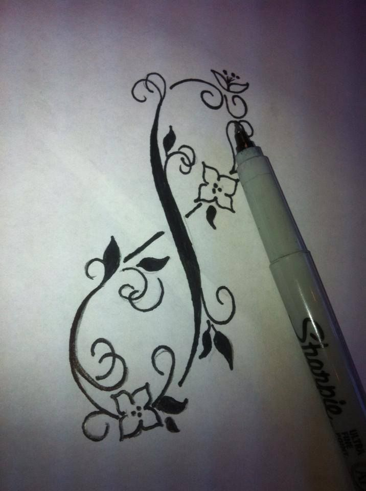 infinity swirls tattoo design candace tattoo flash designs pinterest swirl tattoo tattoo. Black Bedroom Furniture Sets. Home Design Ideas